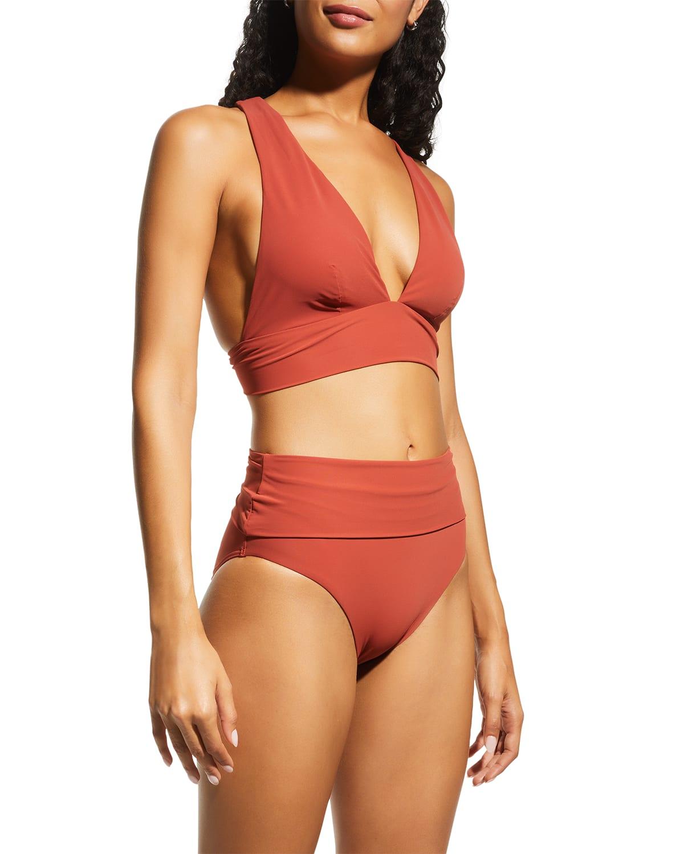 Jetset Fold-Down Bikini Bottoms
