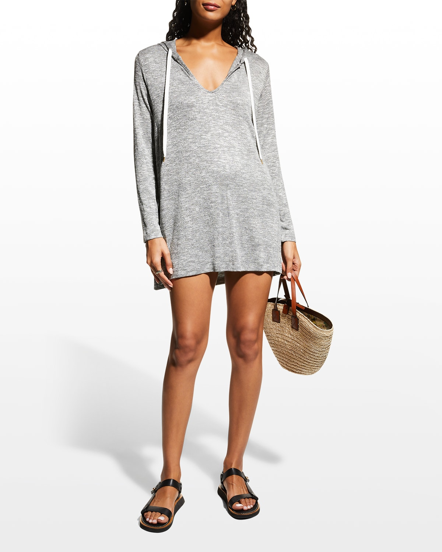 Beach Sweater Coverup Hoodie