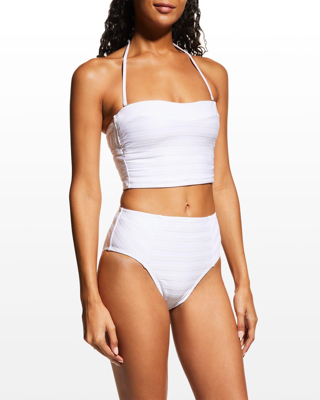 Linea Costa Bandeau Midkini Swim Top