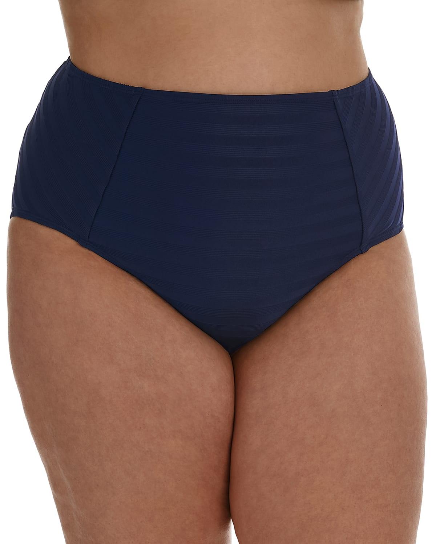 Plus Size Linea Costa High-Waist Bikini Bottoms