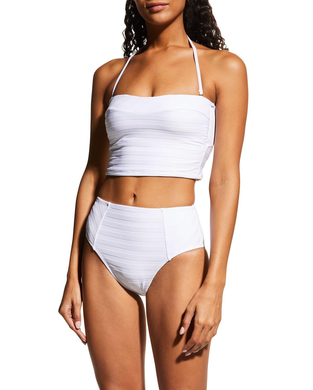 Linea Costa High-Waist Bikini Bottoms
