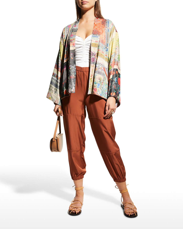 Callaway Flora Reversible Kimono