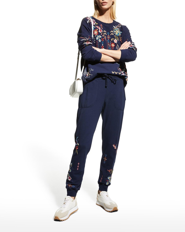 Dreamer Embroidered Raglan Sweatshirt