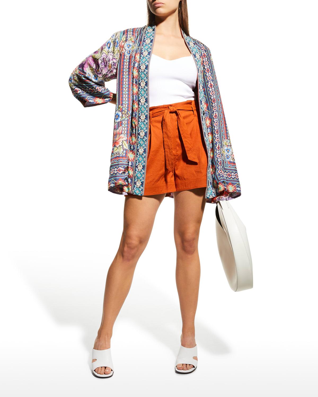 Markel Emilia Silk Kimono