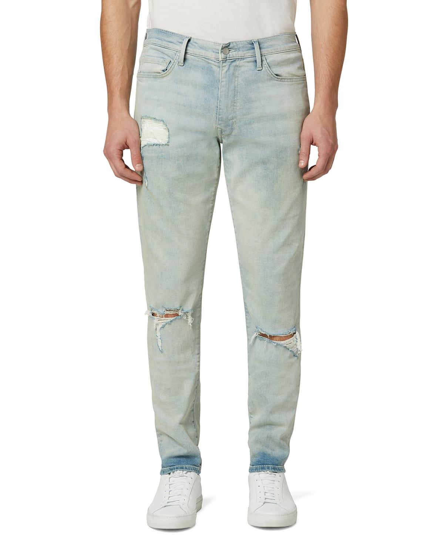 Men's Dean Tapered Knee-Rip Jeans