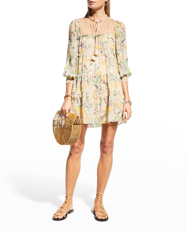 Marcie Ruffle Tiered Tunic Dress