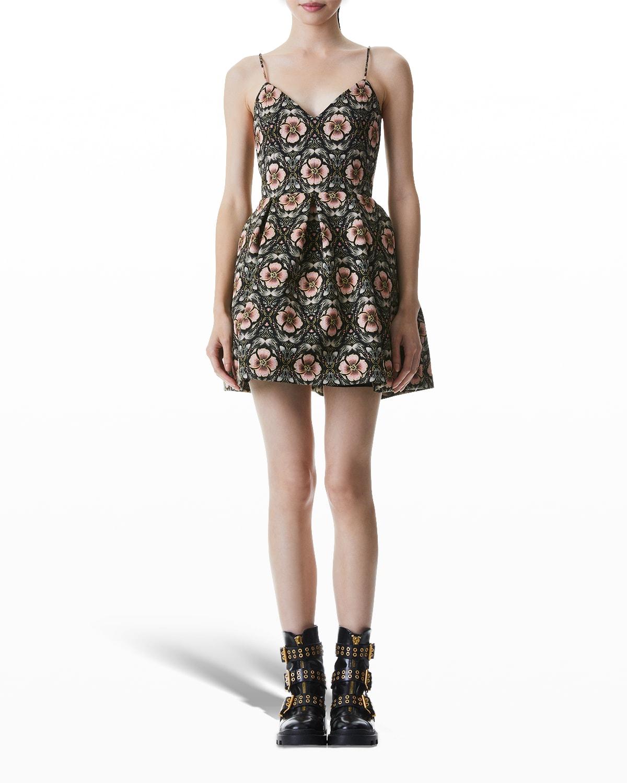 Madison Spaghetti-Strap Party Dress