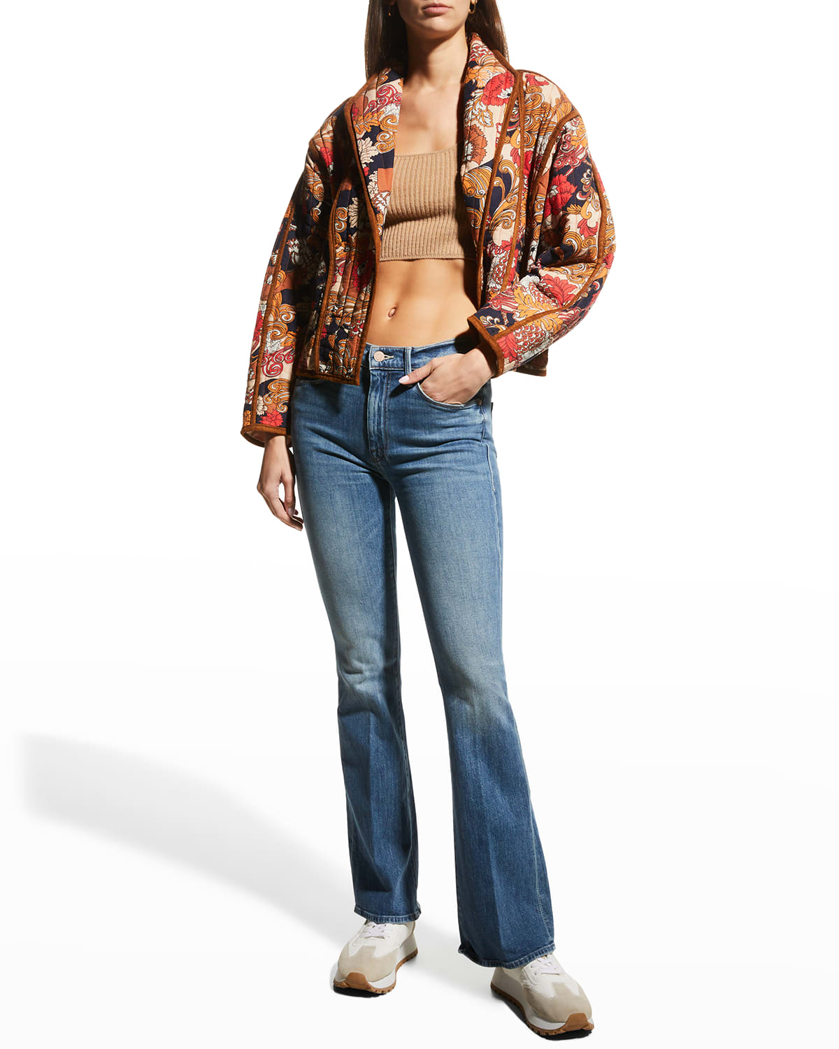 The Weekender Flare Jeans