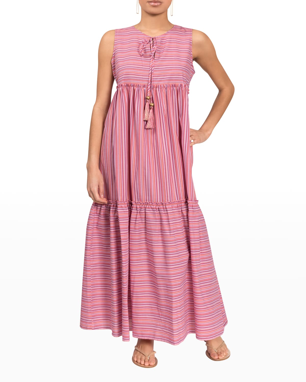 Brynleigh Sleeveless Maxi Coverup Dress