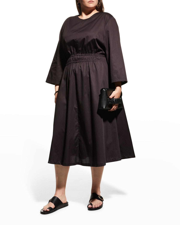 Plus Size Alder Tie-Waist Dress