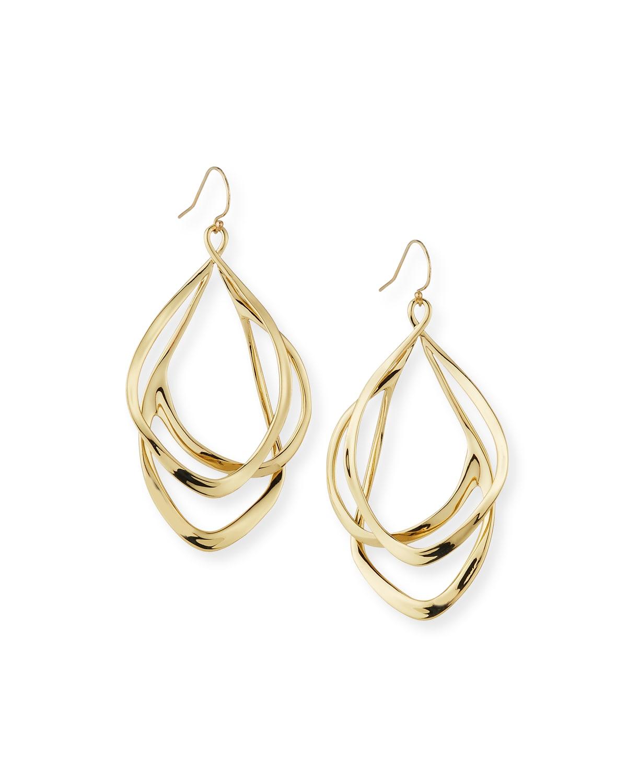 Orbiting Wire Earrings