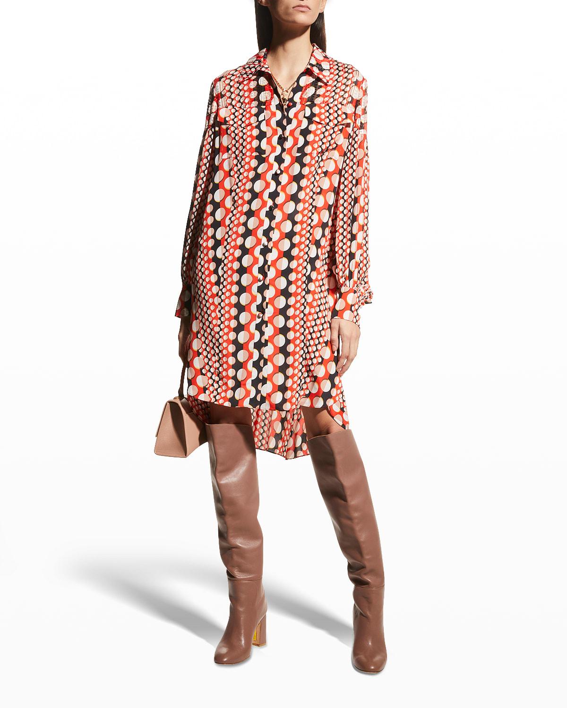 Tyra High-Low Shirtdress