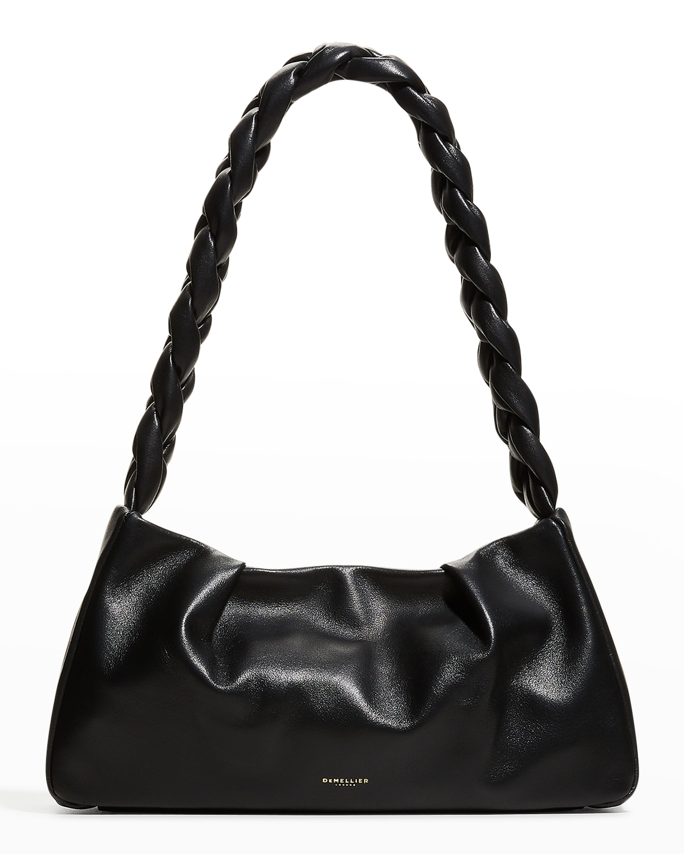 Genova Braided Zip Shoulder Bag