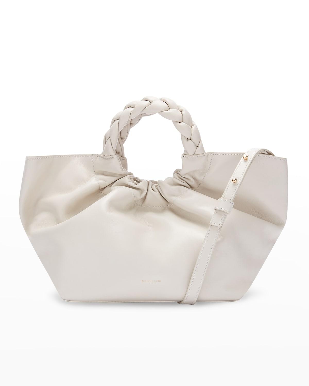 Midi LA Braided Top-Handle Bag