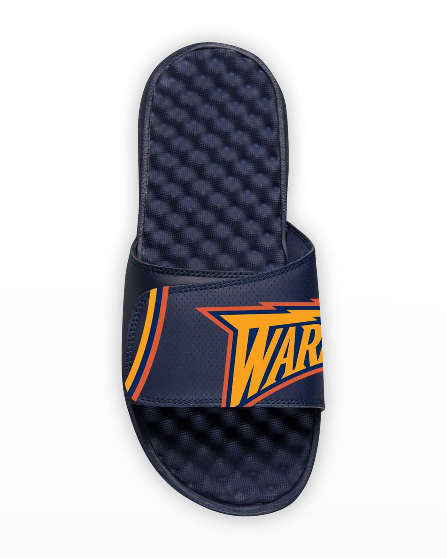 Men's NBA Golden State Warriors Hardwood Classics Slide Sandals