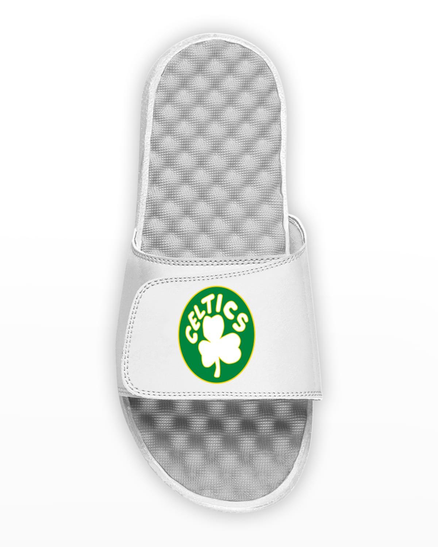 Men's NBA Boston Celtics Hardwood Classics Slide Sandals
