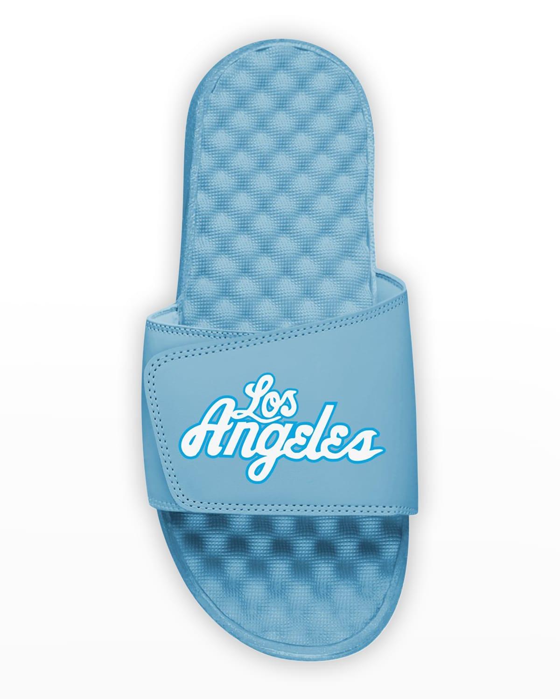 Men's Los Angeles Logo Slide Sandals