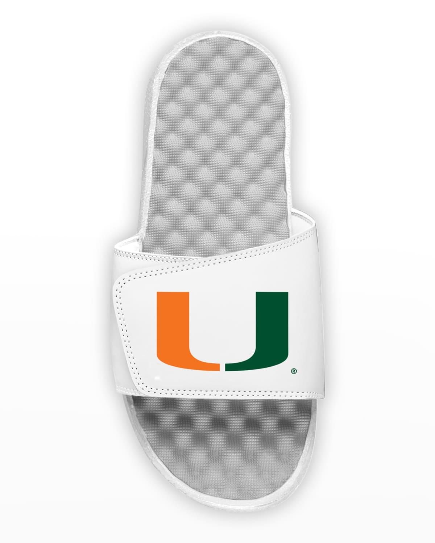 Men's Miami Hurricanes Slide Sandals