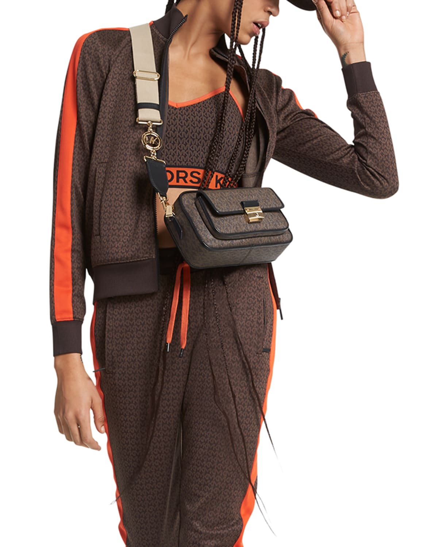 MKGO MK Dot Jacquard Zip-Up Jacket