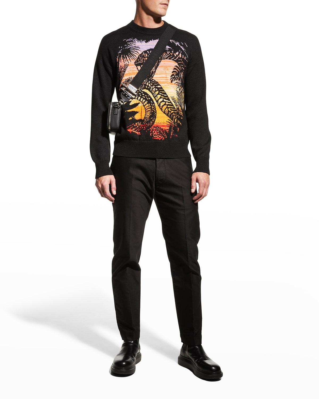 Men's Snake Graphic Sweater