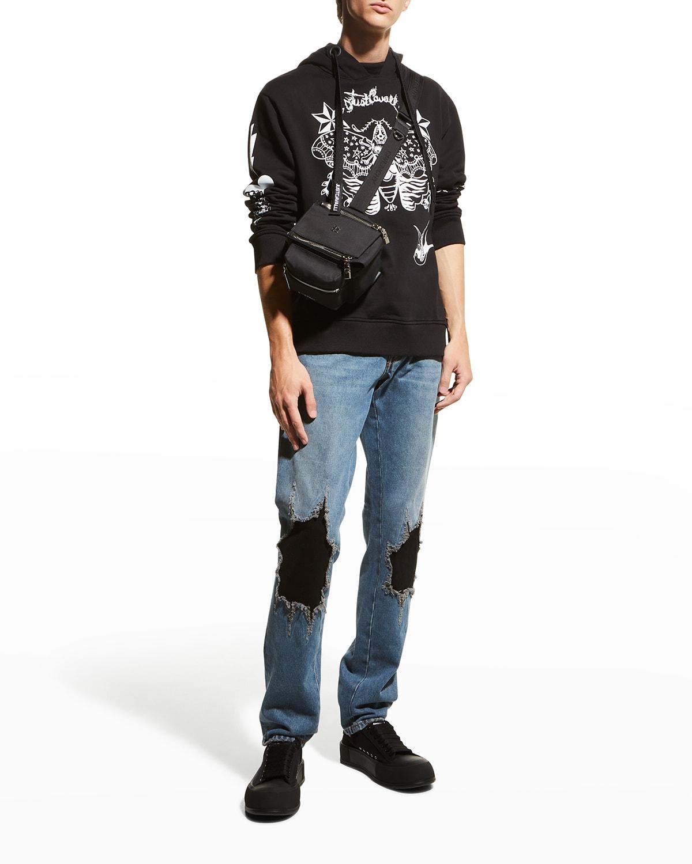 Men's Graphic Hooded Sweatshirt