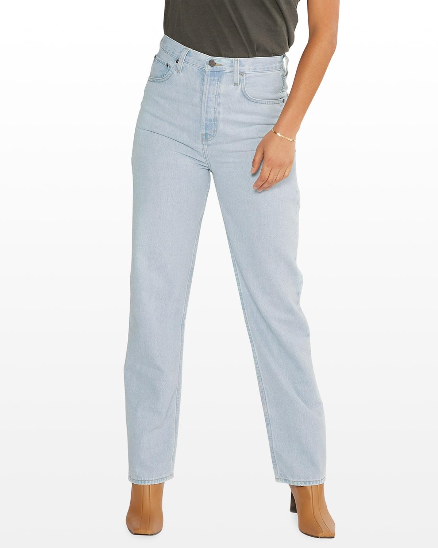 Carine True Straight-Leg Jeans