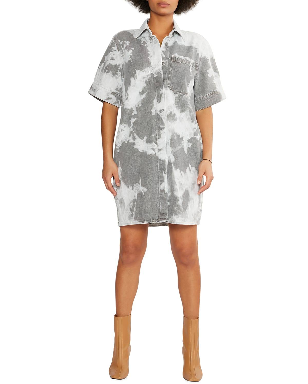 Pia Denim Shirtdress