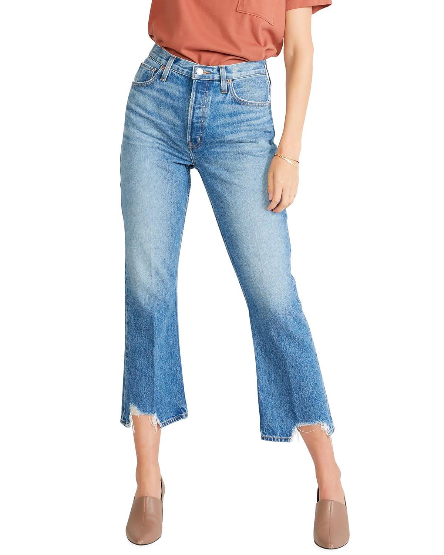 Josie High-Rise Crop Jeans