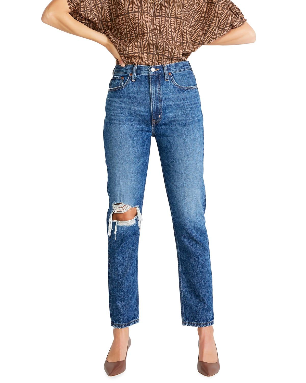 Finn Slim Straight-Leg Jeans