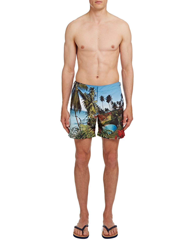 Men's Bulldog Photographic Swim Shorts