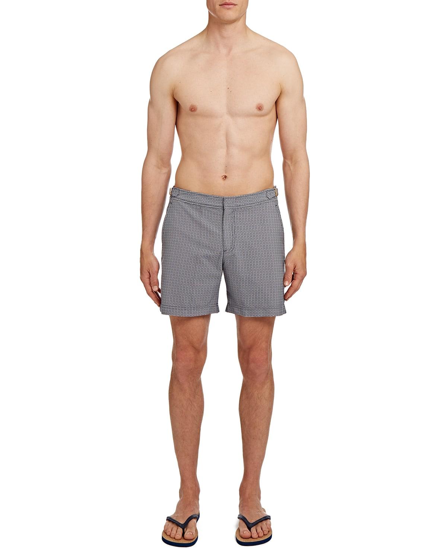Men's Bulldog Chardin Jacquard Swim Shorts