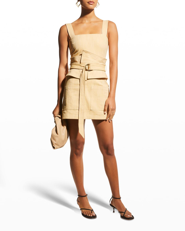Eve Utilitarian Mini Dress