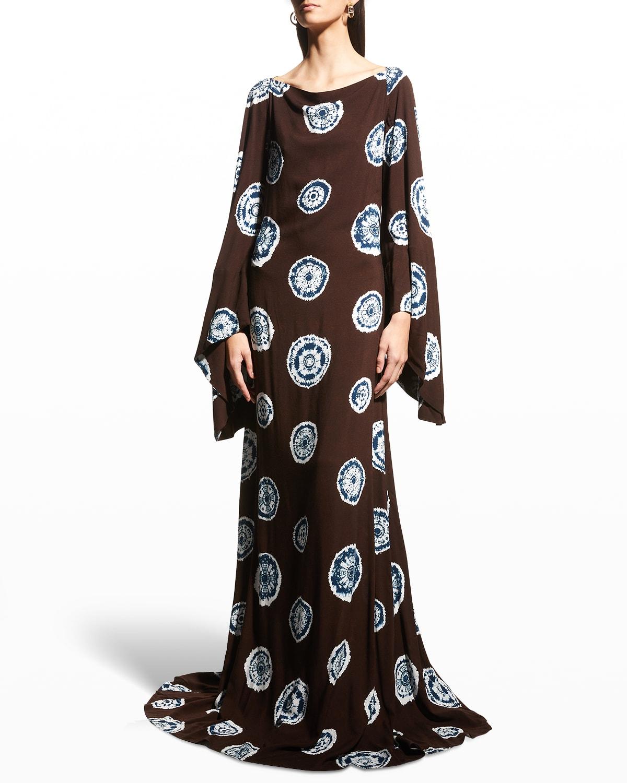 Beauty Tie-Dye Dress