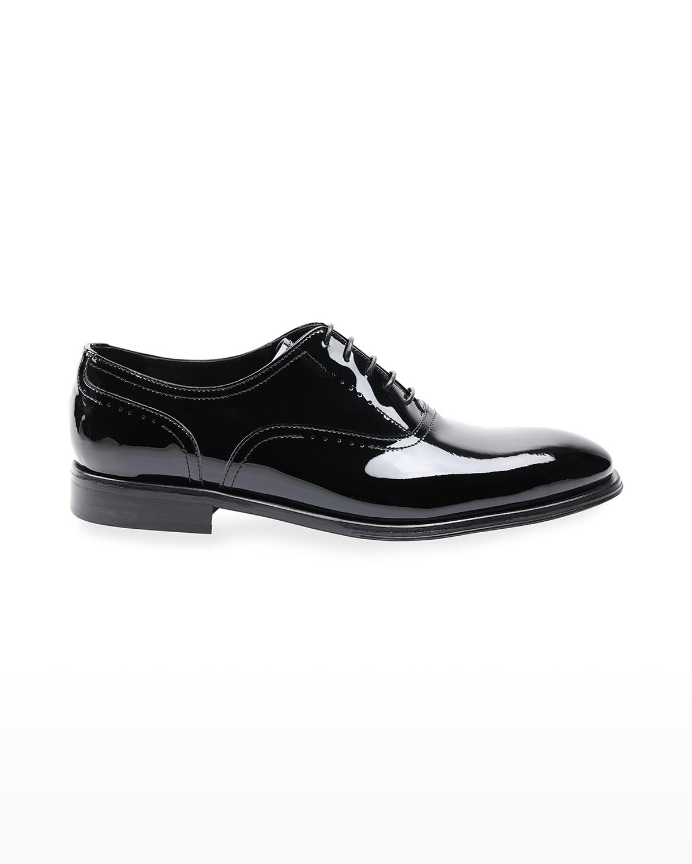 Men's Arno Sera Patent Leather Oxford Shoes