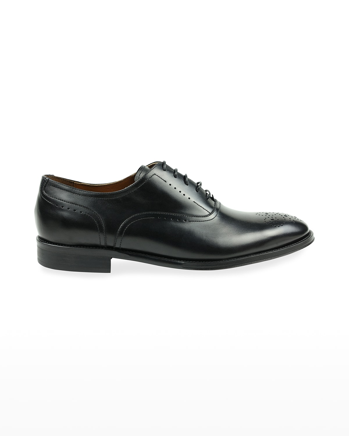 Men's Arno Perforated Leather Oxford Shoes