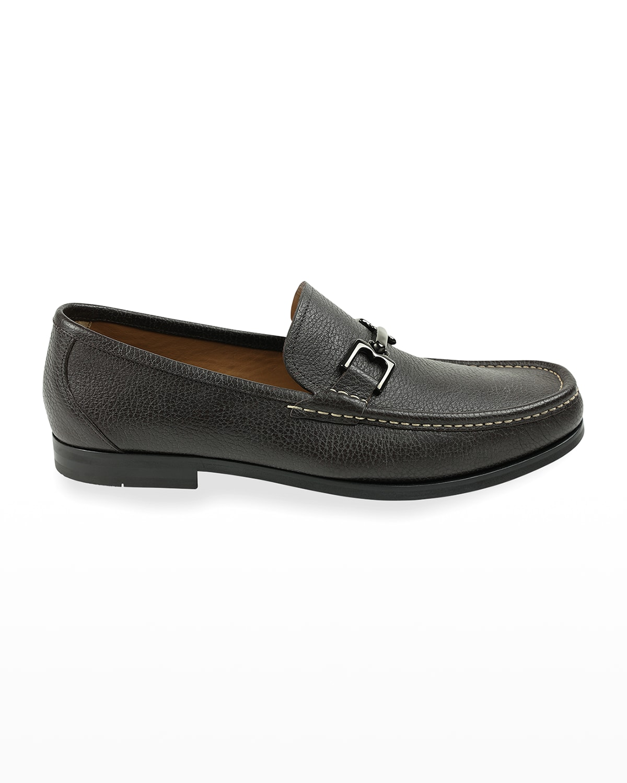 Men's Enrico Leather Bit Loafers