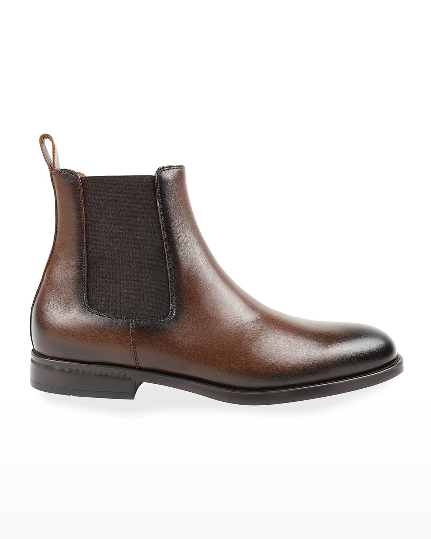 Men's Bucca Leather Chelsea Boots