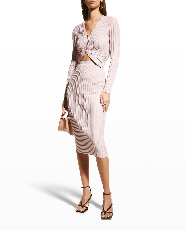 Kim Compact-Rib Bodycon Dress