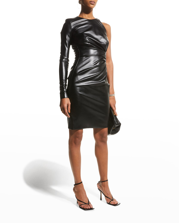 One-Shoulder Cocktail Dress