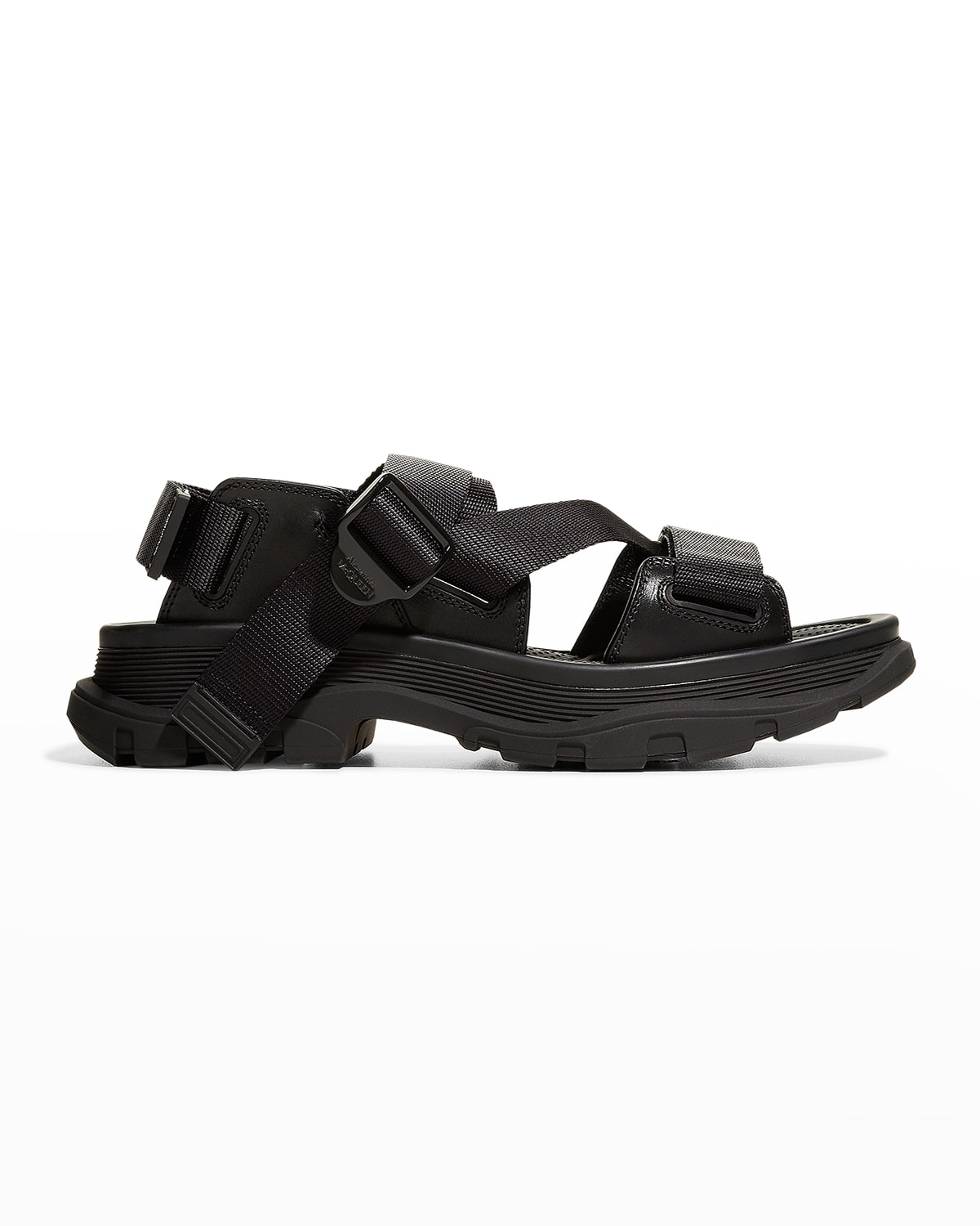 Men's Strappy Leather Sport Sandals