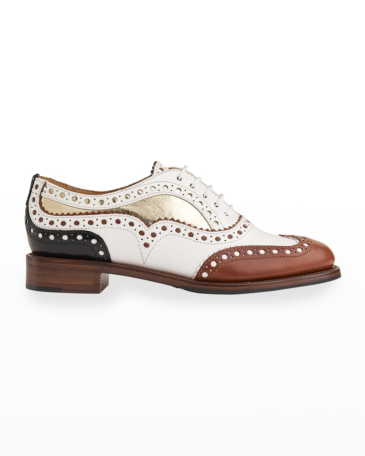 Mr. Doubt Colorblock Leather Oxford Loafers