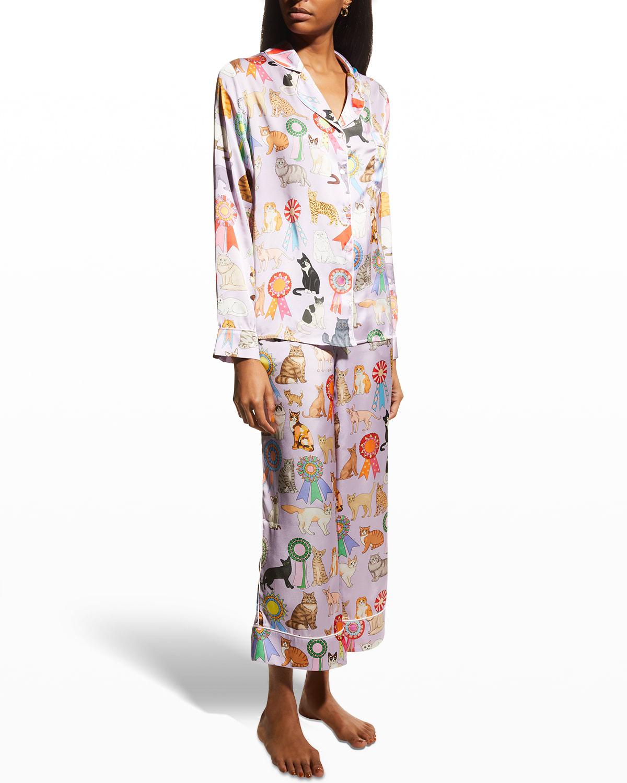 Cat Show Novelty Pajama Set