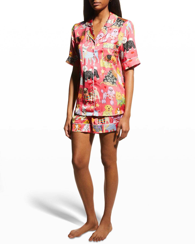 Fashion Dogs Short Pajama Set