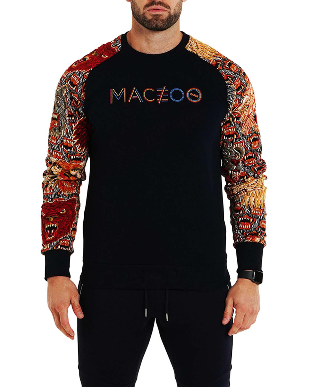 Men's Graphic Luxe Raglan Sweater