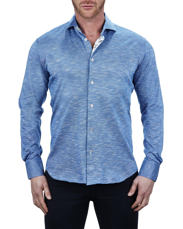 Men's Einstein Jersey Blue Shirt