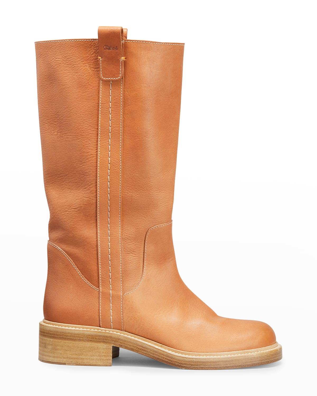 Edith 15mm Calfskin Boots