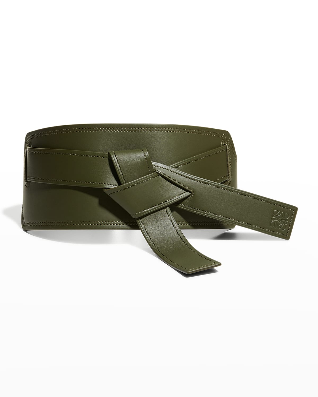 Gate Tie Leather Belt
