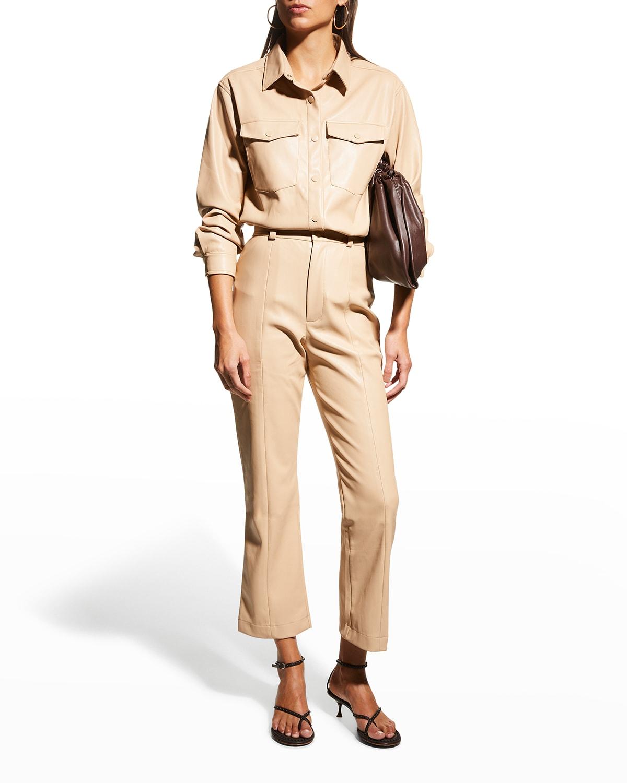 Polly Vegan Leather Pants