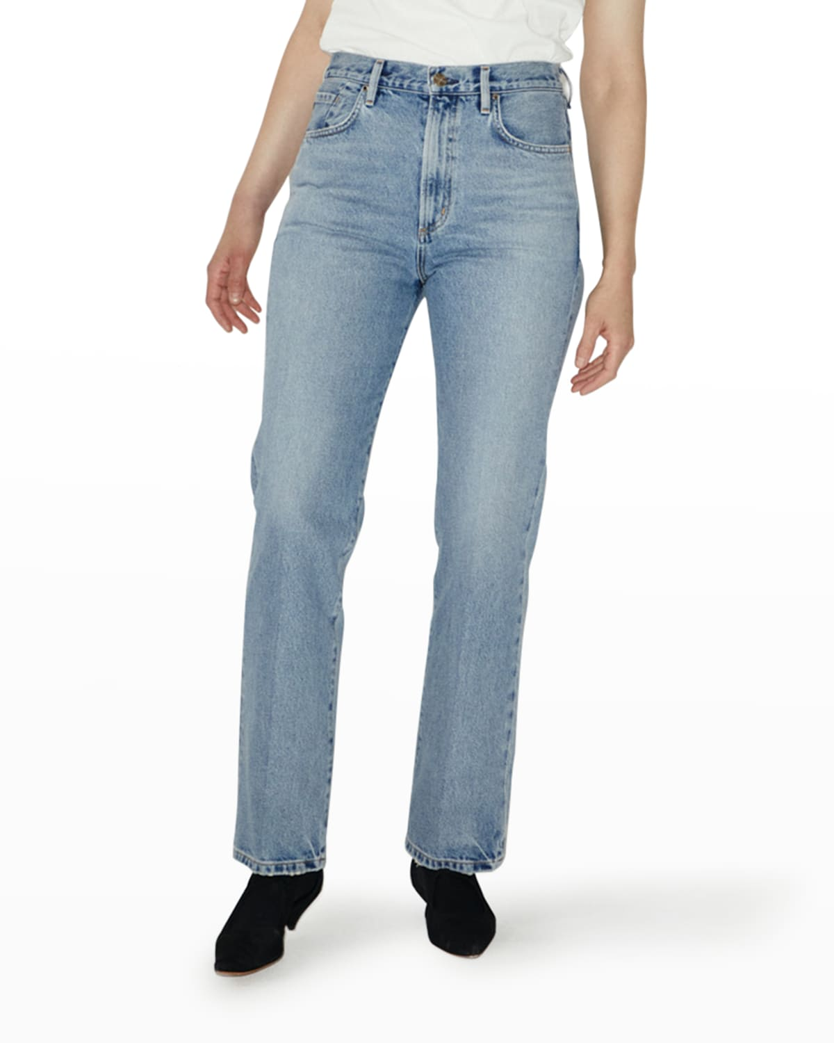 The Martin High-Rise Stovepipe Jeans