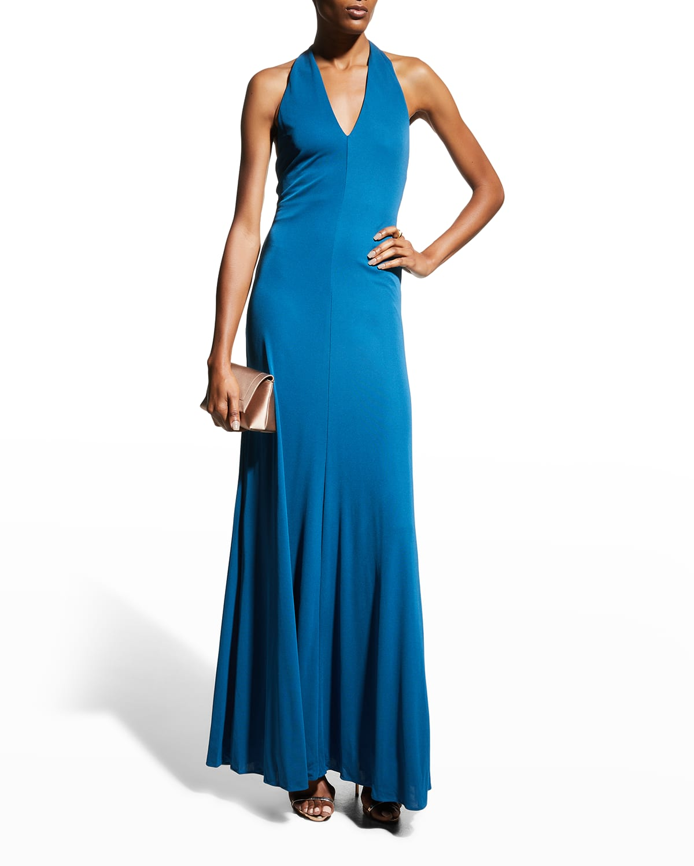 Ulla Halter Jersey Gown